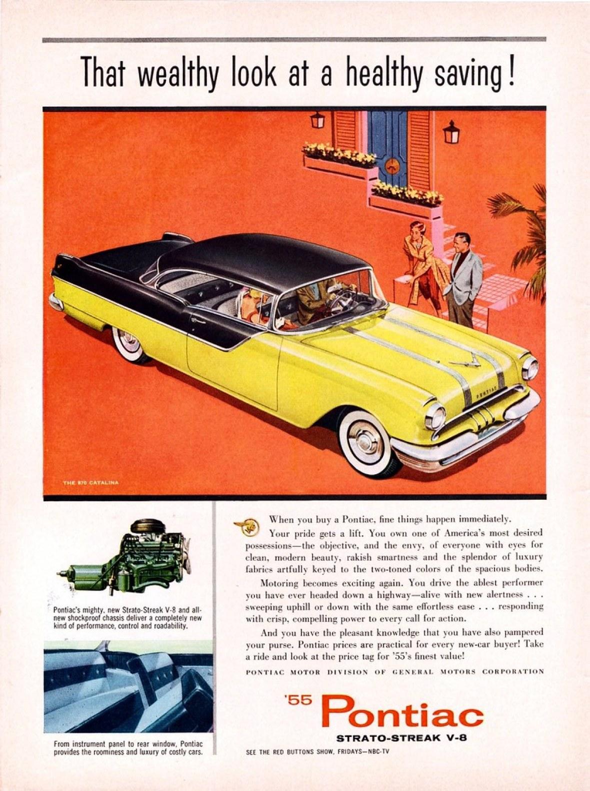 1955 Pontiac Chieftain 870 Catalina