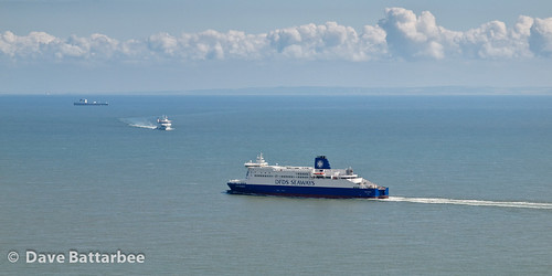 View from the White Cliffs of Dover