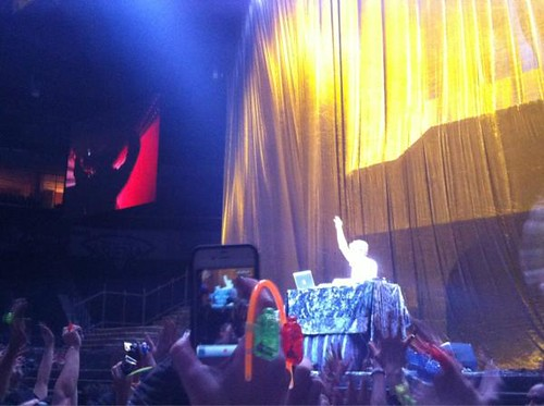 DJ Zedd at Born This Way Ball Manila