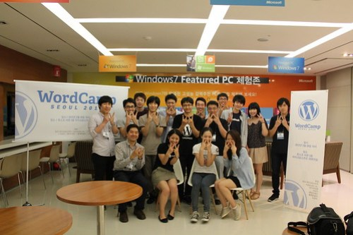 WordCamp Seoul 2012 staff