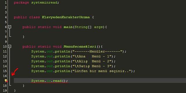 Ders 21 – Java'da klavyeden girilen karakterlerin console'dan okunması   Emrah ARSLAN