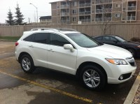 Just arrived - 2013 RDX AWD with Tech & roof rack, White ...