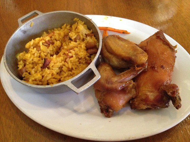 Baked chicken Restaurante Raices