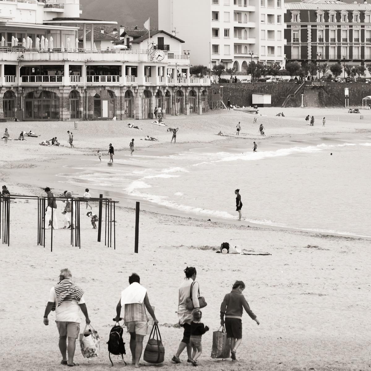 En la playa de San Juan de Luz (3112)