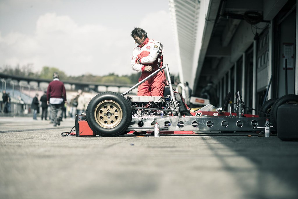 Can Am - Pitlane - Jim Clark Revival 2012