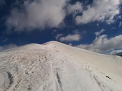 Bald geschafft, nur noch wenige Meter bis zum Gipfel