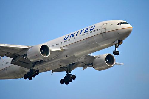United Airlines | Boeing 777-200ER @ SBGR