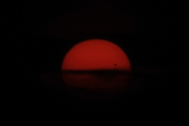 Venular Eclipse at Sunset