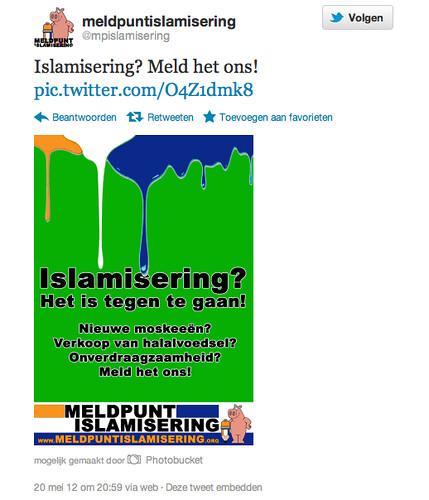 Meldpunt islamisering
