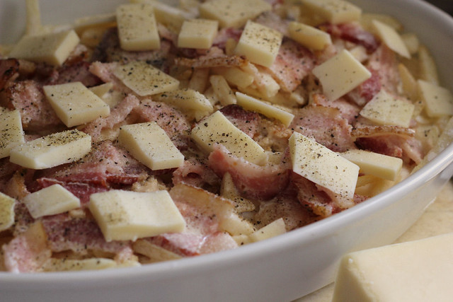 Chicken, Bacon and