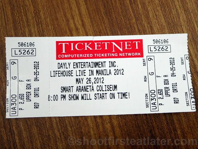 Lifehouse at the Smart Araneta Coliseum-007