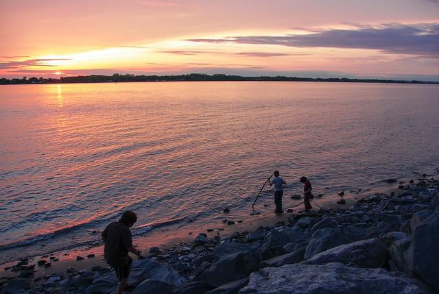 Boys on the beach...