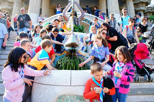 Natzarets al parc Güell