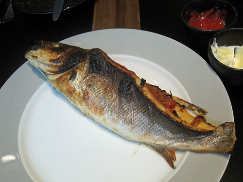 Stuffed Sea Bass