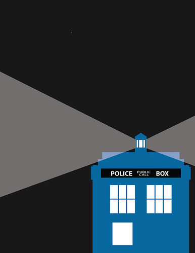 Doctor Who Television Poster