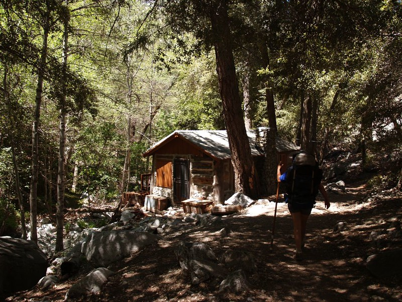 Rustic cabin in Icehouse Canyon