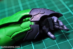 1-100 Kshatriya Neograde Version Colored Cast Resin Kit Straight Build Review (51)