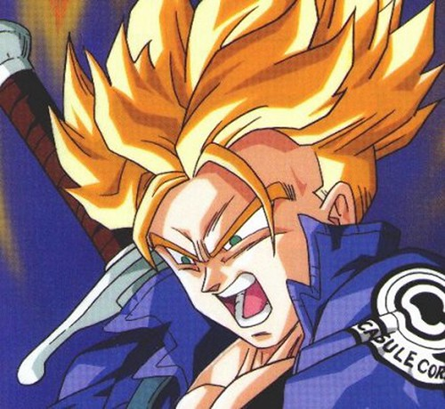 Trunks: Guerrero de Dragon Ball Z, hijo de Vegeta