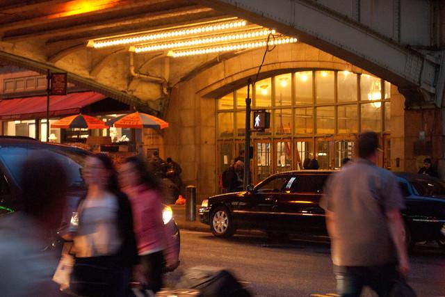 Entrance on 42nd. Photo by Ellen Brenna Dougherty