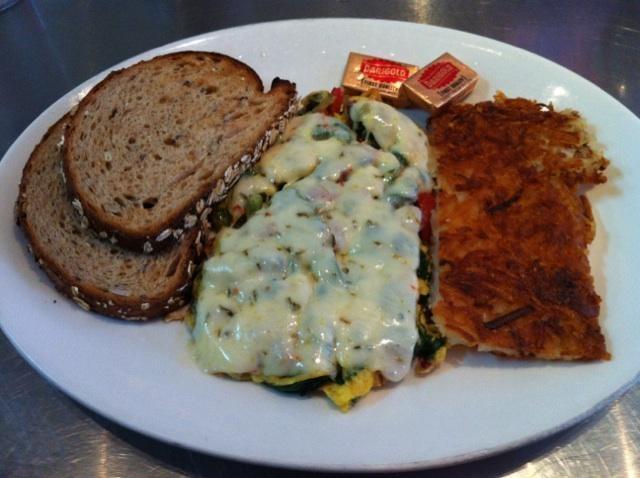 Hot link scrambler - Toast Eatery