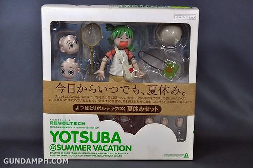 Revoltech Yotsuba DX Summer Vacation Set Unboxing Review Pictures GundamPH (1)