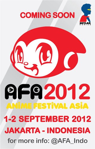 Banner for AFA Indonesia 2012