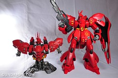 Formania Sazabi Bust Display Figure Unboxing Review Photos (68)