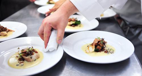 Clean plates.