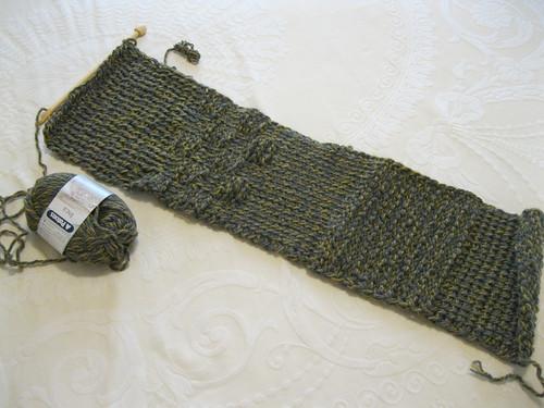 tunisian sampler scarf CAL (ambassador crochet)