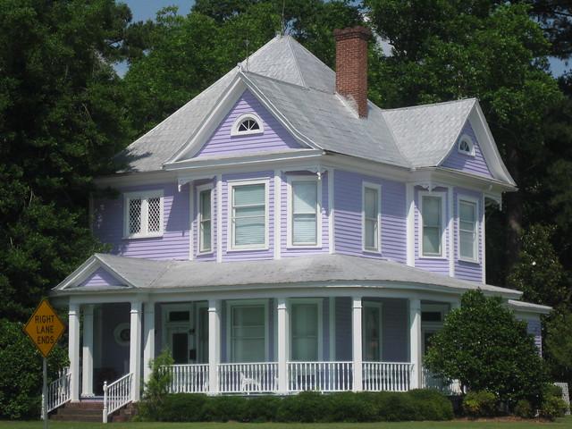 Purple House in Branchville, SC