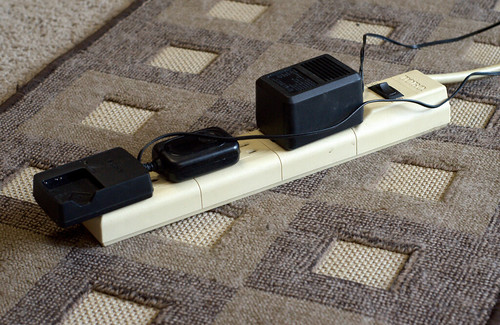 Put All Device Chargers on One Power Strip (154/365)