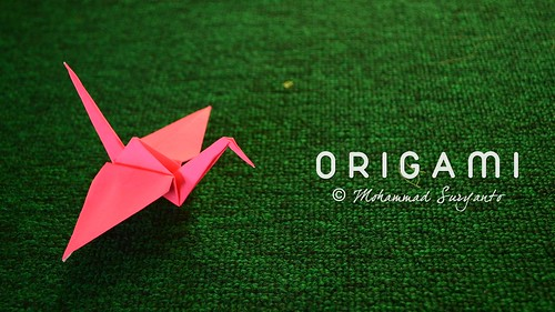 Origami | Pink