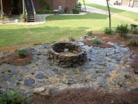 Outdoor Stone Fire Pit | Flickr - Photo Sharing!