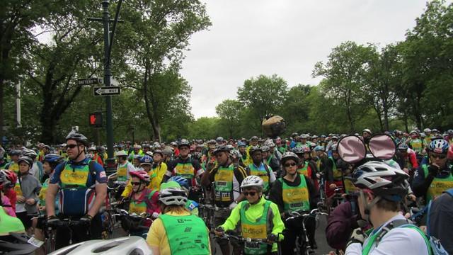 Battery Park - starting line.