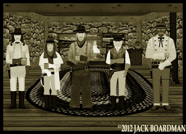 Jay Cooper joins the team in the War Room ©2012 Jack Boardman