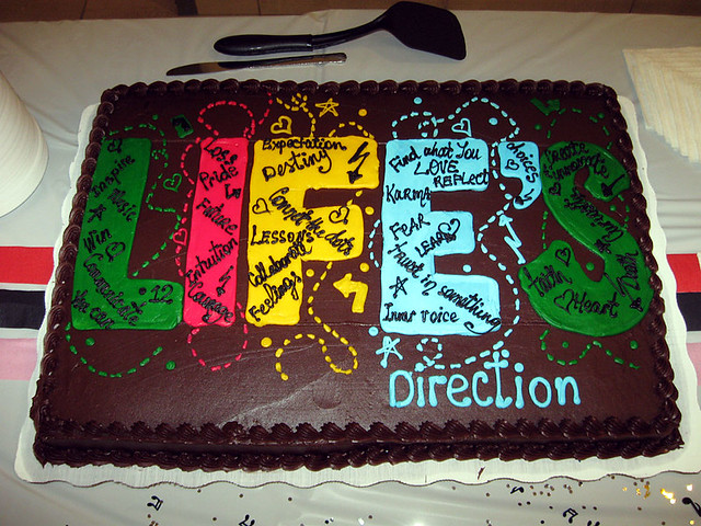 Life's Directions Cake