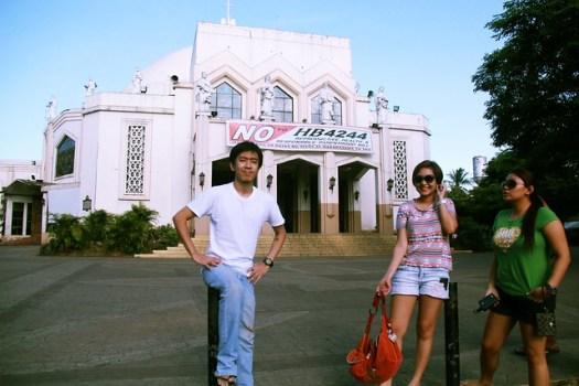 Antipolo Church, Rizal w/ Law School Classmates