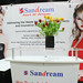 Sandream Cosmetic Industry ExhibitCraft NJ Trade Show Display