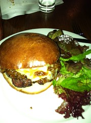 The double U burger