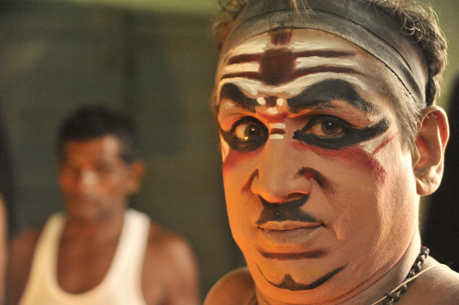 Bhima getting ready.. Yakshagana, Kichaka Vadha