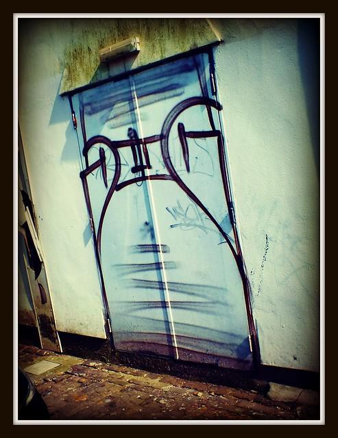 DWC DMC Grafitti in Roath