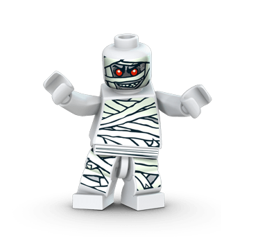LEGO Monster Fighters The Mummy (The Cursed Mummy King)