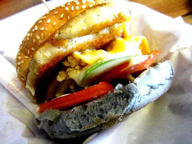 Special chicken chop burger 2
