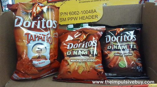 Doritos Dinamita on shelf