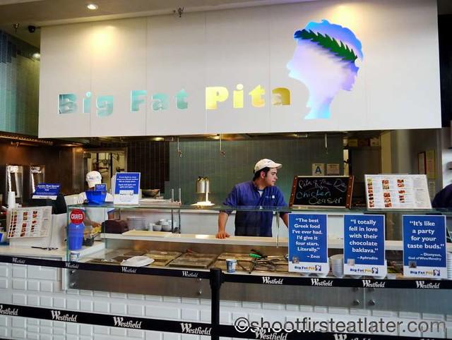 Century City Mall Food Court- Big Fat Pita