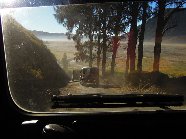On the way to Mt Bromo