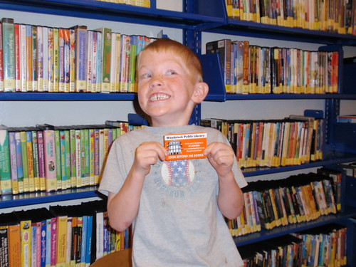 First Library Card!