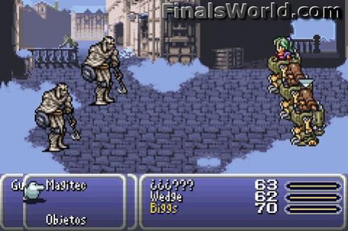 Wedge and Biggs Final Fantasy VI