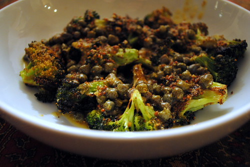 Broccoli with Caper-Mustard Sauce