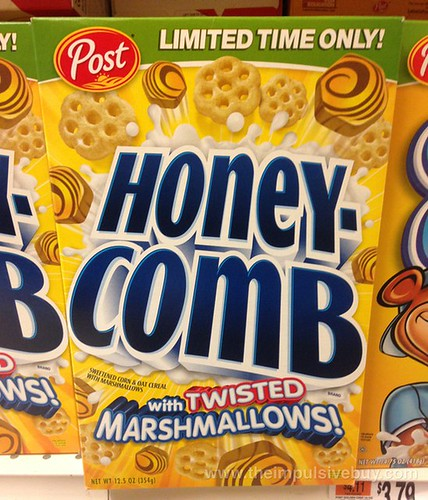 Post Limited Time Only Honeycomb with Twisted Marshmallows Cereal